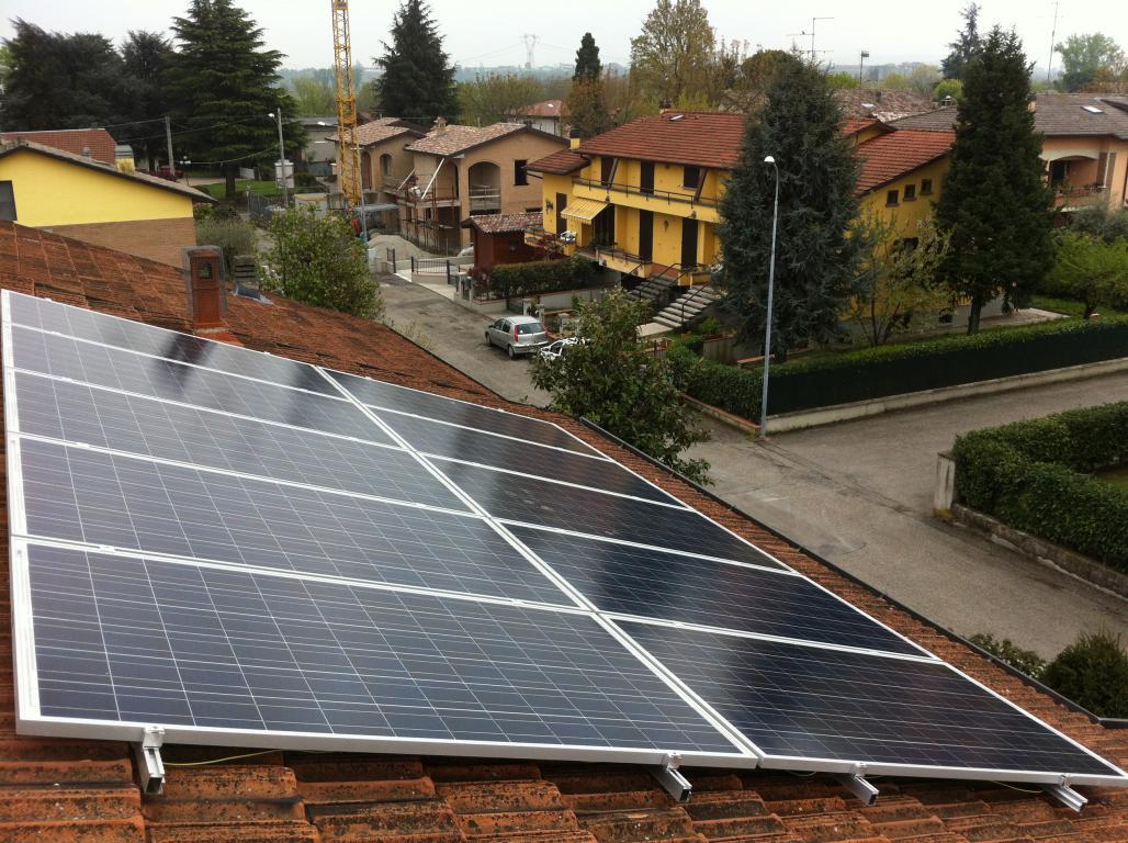 Impianto fotovoltaico Bibbiano